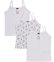 Детские майки для девочки 5-6, 6-7 лет Набор 3 шт Deer Print F&F (Англия)
