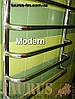 Полотенцесушитель Modern 7/500 из нержавеющей стали, с П-образной выступающей перемычкой., фото 3
