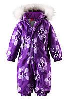 Детский зимний комбинезон для девочки ReimaTEC 510151 - 5386. Размеры 80 - 98.