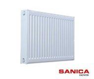 Сталевий радіатор Sanica т11 500х1100 (збоку) (1086Вт) - панельний