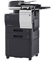 Konica Minolta bizhub C3350, полноцветное МФУ, А4, 33 стр./мин, сетевой принтер, сканер, копир, дуплекс.