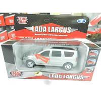 Автомодель Технопарк  LADA LARGUS (свет, звук)