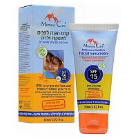 Органический солнцезащитный крем Mommy Care  для лица для детей с рождения (SPF-15, 60 мл)