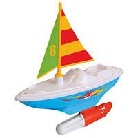 Развивающая игрушка KiddielandPreschool Развивающая игрушка – ПАРУСНИК (для игры в ванной)