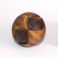 Деревянная головоломка Футбольный мяч