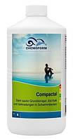 Кислотный очиститель для бассейнов Chemoform Compactal (жидкий), 1 л