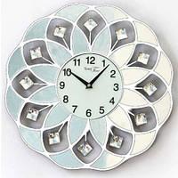 Часы настенные металл/акрил. 40х40 см