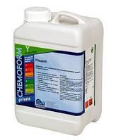 Сильный щелочной очиститель против жирных и маслянистых пятен в бассейнах и саунах Flisan (жидкий), 3 л
