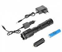 Шокер Оса Police BL 1103 (Балда), 50 000 кВ,  яркий фонарь, аккумулятор Li-ion 18650, кассета для батареек