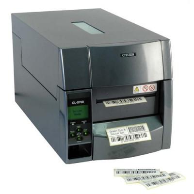 Citizen CL-S700DT - супер промисловий принтер для друку етикеток БАГАТО