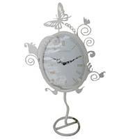Часы настольные Эдем метал. круглые (33*5*57,5см)
