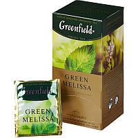 Чай Greenfield Green Melissa зеленый пакетированный 25 шт 903494
