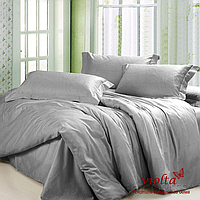 Пошив постельного белья из ткани: сатин люкс, серый