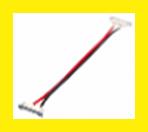 Коннектор LEDEX для Led ленты SMD 5050 Connector-1 10mmBXB-RGB Color Middle Wire 15cm