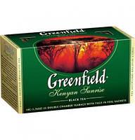 Чай Greenfield Kenyan Sunrise черный пакетированный 25 шт 903542