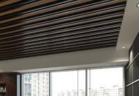 Кубообразный потолок. Рейка 34х80 шаг 100