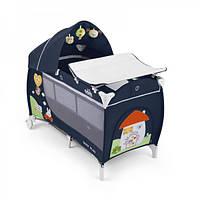 Манеж-кровать Cam Daily Plus, цвет синий
