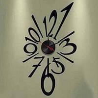 Виниловая наклейка-часы Feron NL22 часы 4540