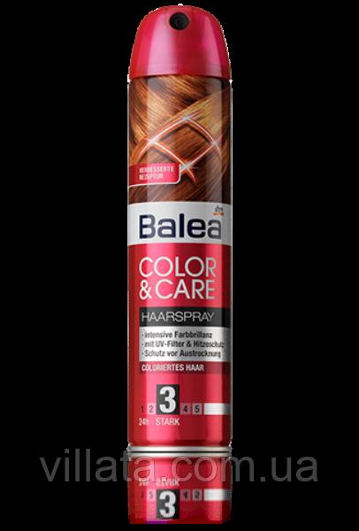 Лак для окрашенных волос Balea Haarspray Color&Care 300 Ml