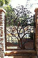 "Кованая калитка ""Дерево мудрости"""