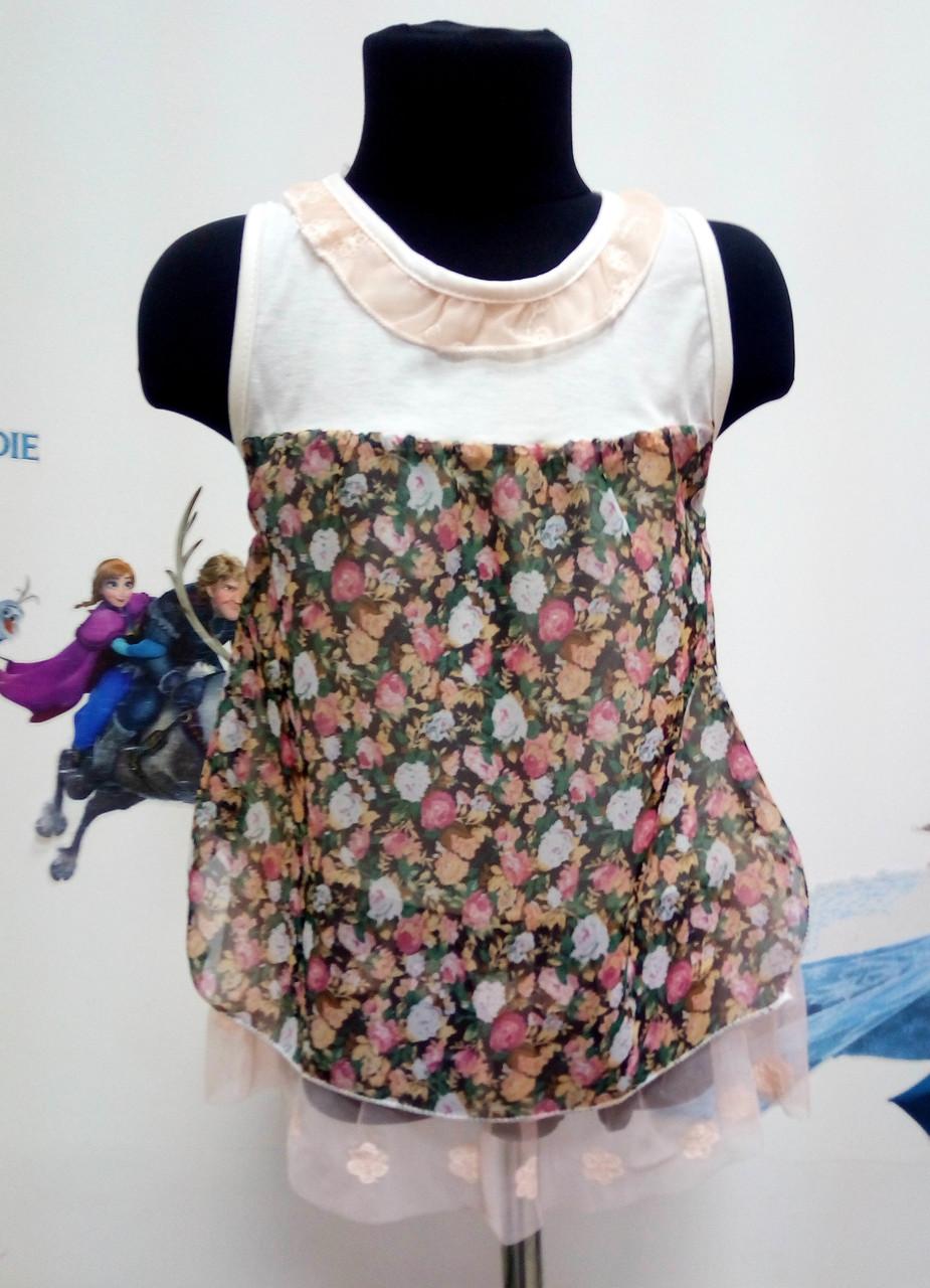 Легке, літні сукні для дівчаток.