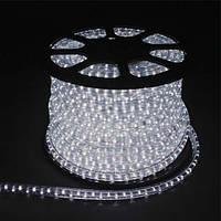 Светодиодный дюралайт LED 2-х жильный 1,44Вт/м 13мм круг белый 36SMD Feron