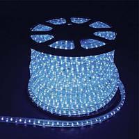 Светодиодный дюралайт LED 2-х жильный 1,44Вт/м 13мм круг синий 36SMD Feron