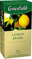 Чай Greenfield Lemon Spark черный пакетированный 25 шт 907019