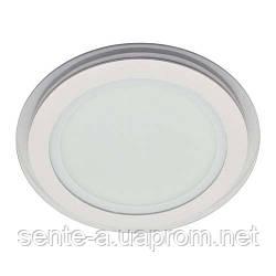 Светодиодный врезной светильник  AL510 6W 4000K круглый белый IP20 Feron