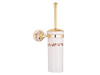 Ершик настенный KUGU Medusa 705G (латунь, золото, керамика)(Бесплатная доставка  )