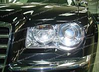 Реснички Крайслер 300С (накладки на передние фары Crysler 300C)
