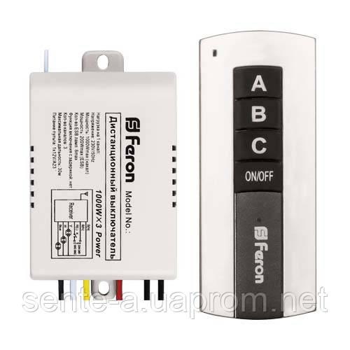 Дистанционный выключатель Feron TM76 трехканальный 5000
