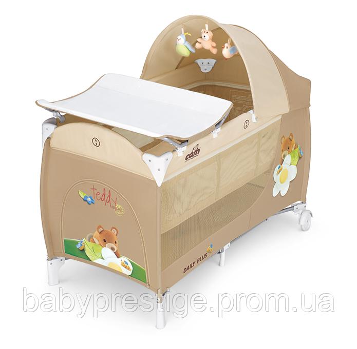 Манеж-кровать Cam Daily Plus, цвет бежевый