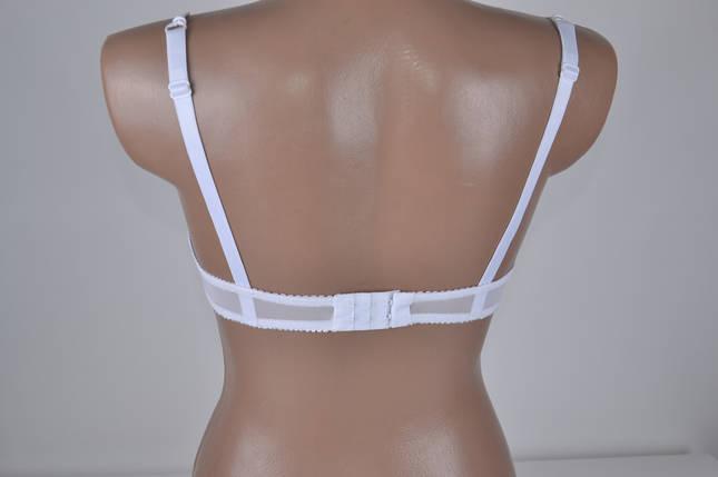 Бюстгальтер белый с гипюром на косточке (W82133) | 3 шт., фото 2