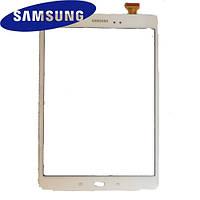 Touchscreen (сенсорный экран) для Samsung Galaxy Tab А T550, T555, белый, оригинал