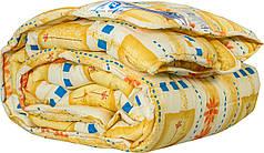 Одеяло 140х205 холлофайбер теплое Merkys цветной поликоттон