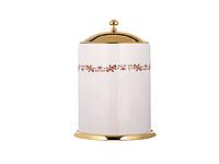Бокс для аксессуаров KUGU  Medusa 726G (латунь, золото/керамика)(Бесплатная доставка Новой почтой)
