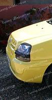 Реснички Фиат Добло 1 (накладки на передние фары Fiat Doblo 1)