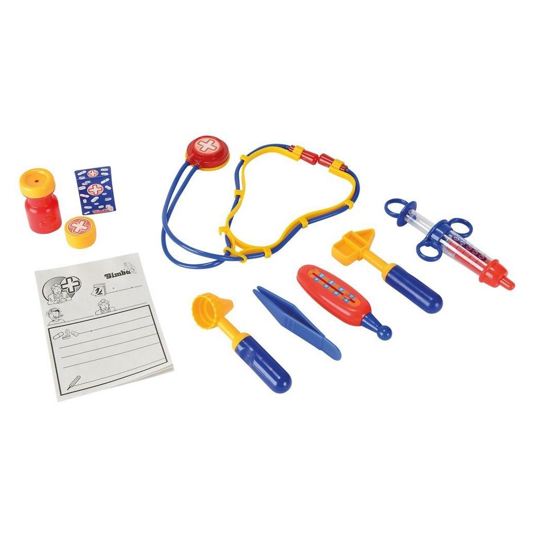 Игровой набор «Simba» (5542578) набор доктора в кейсе 30х28, 10 предметов