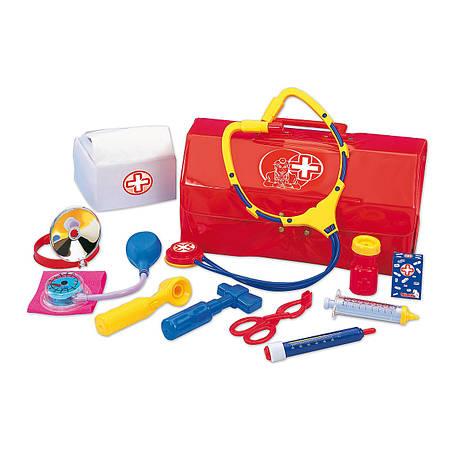Игровой набор «Simba» (5541297) набор доктора в чемодане 28х14, 11 предметов, фото 2