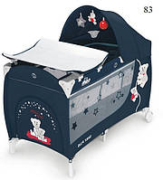 Манеж-кровать Cam Daily Plus, цвет темно-синий