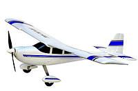Самолет на радиоуправлении модель VolantexRC Trainstar TW-747-4 RTF белый (самолет с пультом)