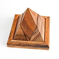 Деревянная головоломка Пирамида из 5 частей