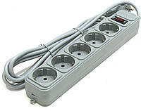 Сетевой фильтр SP R6, 4,5 m Grey 30штук в упак.