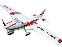 Самолет на радиоуправлении модель VolantexRC Cessna 182 Skylane TW-747-3 RTF белый (самолет с пультом)