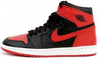 Баскетбольные кроссовки Air Jordan 1 Retro High OG Banned, найк джордан