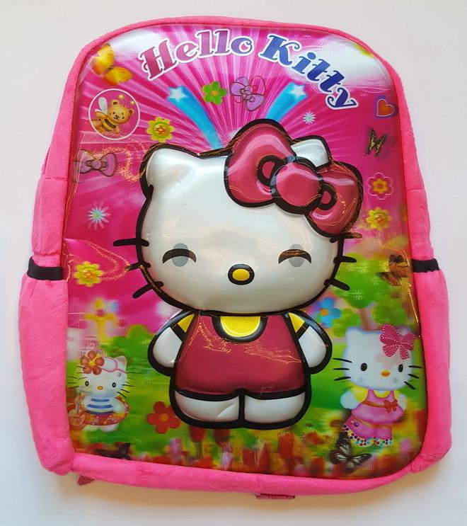 Рюкзак шкільний для дівчинки Hello Kitty 3D