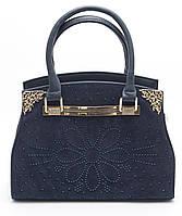 Стильная женская синяя сумка  Б/Н art.808