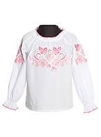 Детская блузка с вышивкой (в размере 146 - 158)