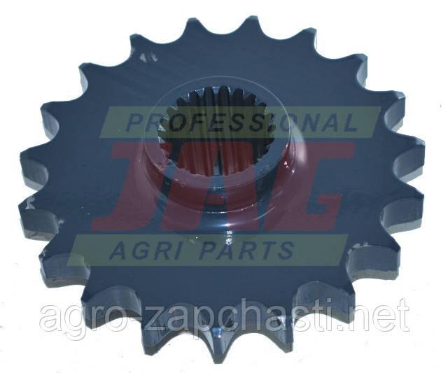 JAG59-0120 Звездочка с шлицами 19 зубов